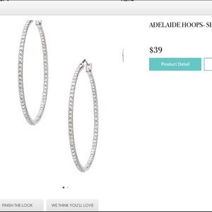 Stella and Dot Adelaide Hoops